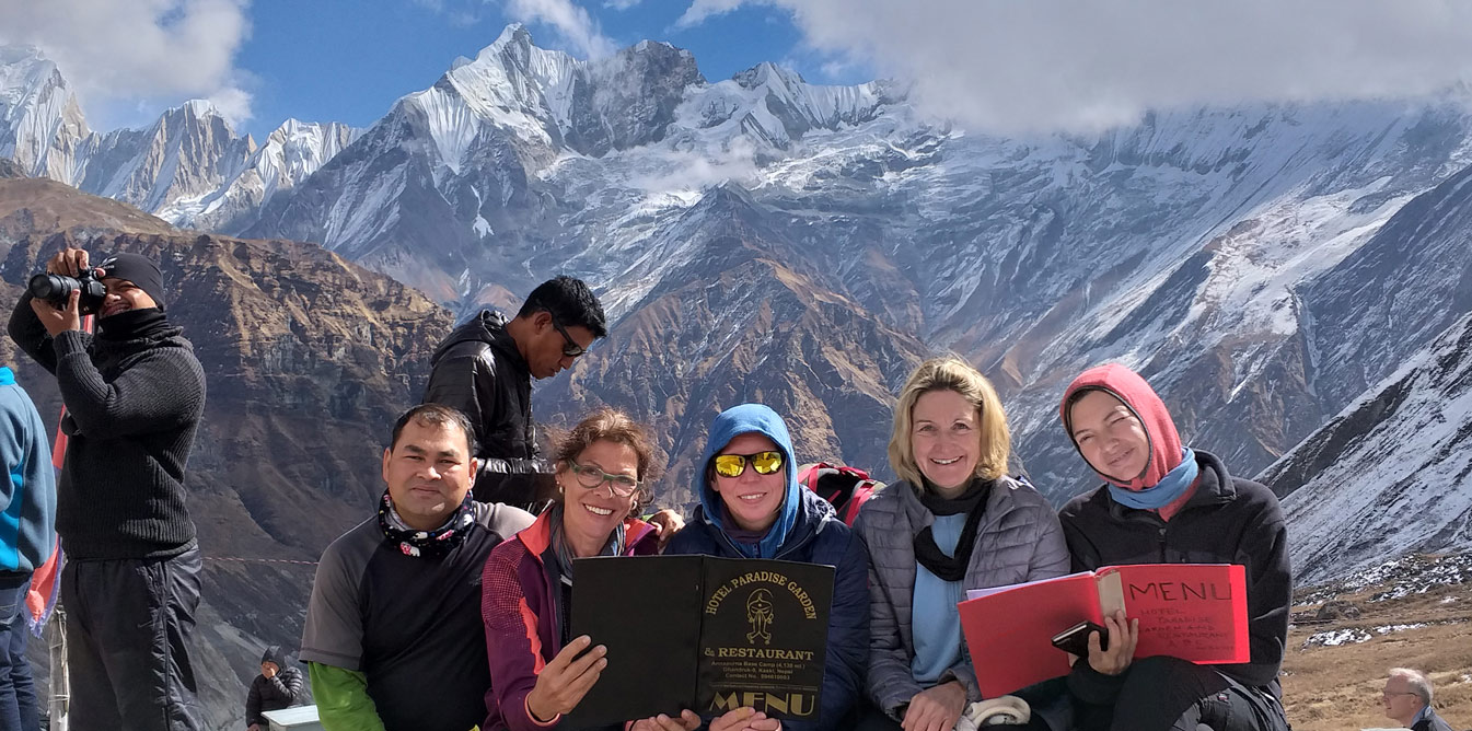 20 Tage Annapurna Base Camp Trek