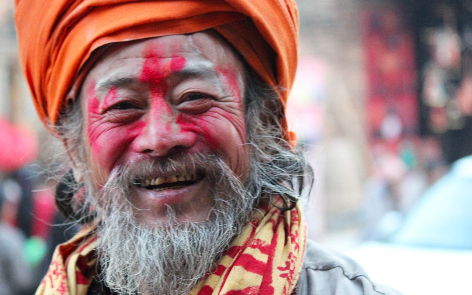 Sadhu at Bhaktapur