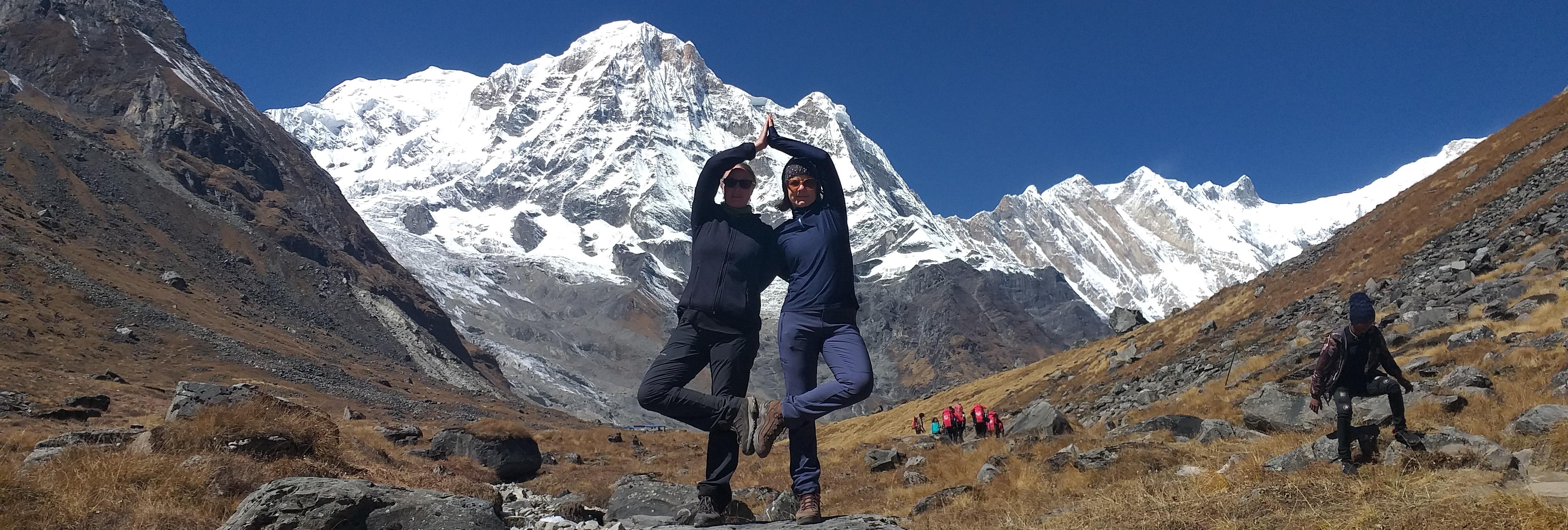 Tiefenentspannung und Energie tanken Yoga, Ayurveda and Trekking in Himalaya